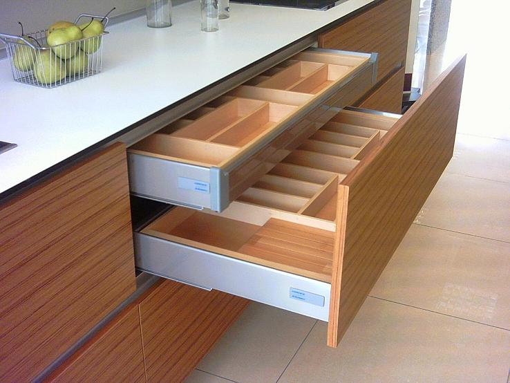cajones de cocina varios espacios