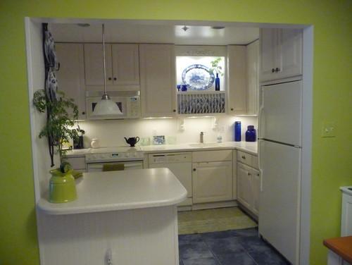 foto de una cocina chica