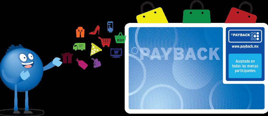 tarjeta de puntos payback conjeados por articulos