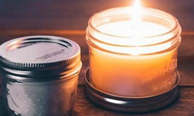 velas perfumadas con infusión de té