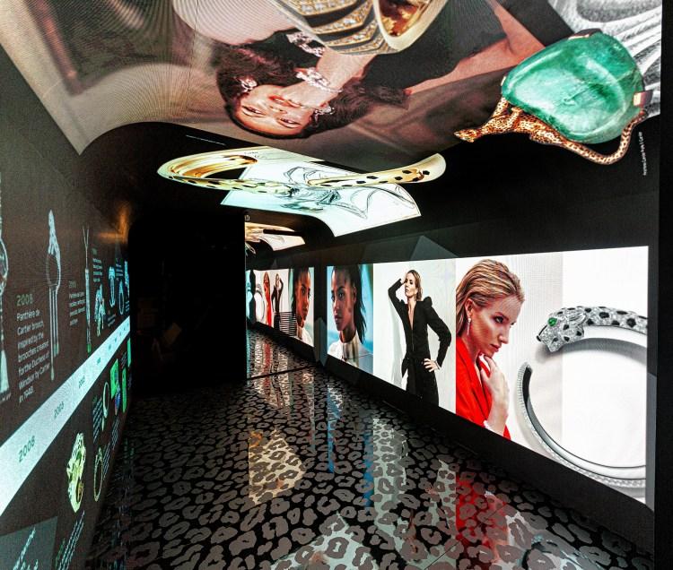 Experiencia Panthère de Cartier en Harrods show