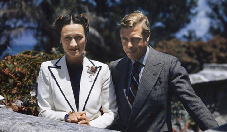 Los duques de Windsor y su joya Cartir de compromiso