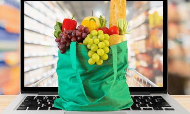 Guía de instrucciones de comestibles en línea