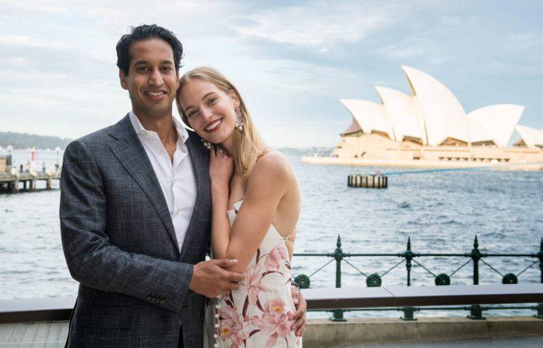 Axente Vanessa y su ahora esposo Rahil Gupta