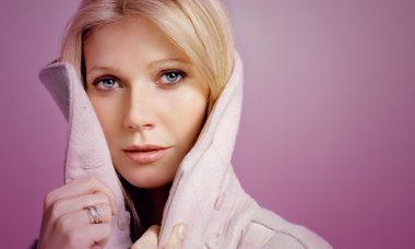Gwyneth Paltrow modelando