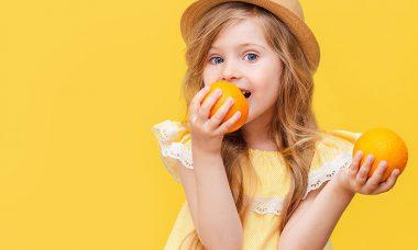 Vitamina C en la dieta de su hijo